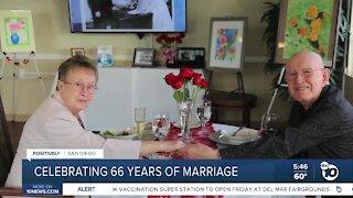 Couple celebrates 66th year wedding aniversary