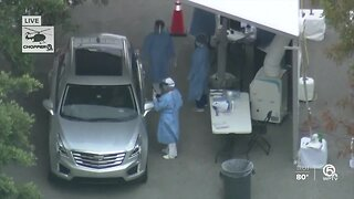 New coronavirus testing site opens at South County Civic Center