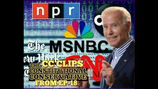 CC Clips - Biden & His Corporate Media Cover