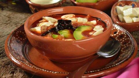 Original Aztec soup