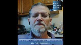 20201109 COVID-19 Vindication - The Daily Summation