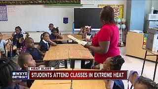 Detroit public schools superintendent asks staff to 'work through the heat'