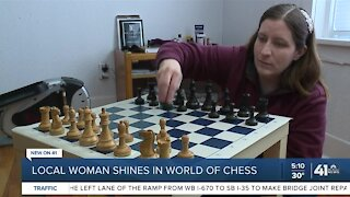 Local woman shines in world of chess