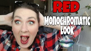 Monochromatic Makeup Tutorial | Red
