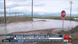 Flooding on Panama Road in Lamont
