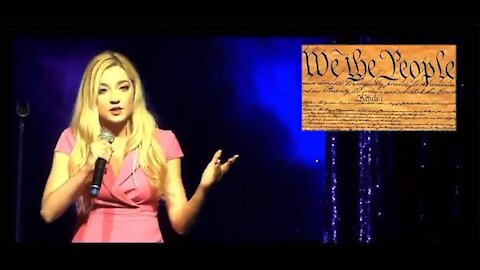 Miss New Jersey Contestant Stands Up To Woke Mob In Viral Speech