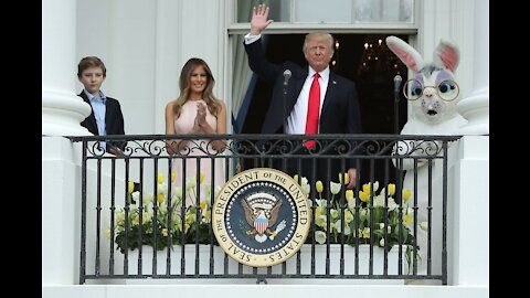 President Trump Participates in the White House Easter Egg Roll 2017