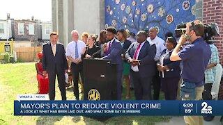 Criticism over Mayor Scott's Crime Plan