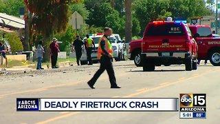 3 dead, 3 firefighters hurt after truck, fire engine collide
