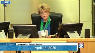 WATCH FULL REMARKS: Mayor Goodman questions shutdown, calls for state to reopen