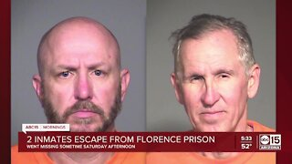 Two inmates escape from Florence prison