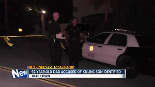 Father accused in shooting death of son in Old Town