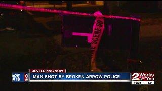 Man shot by Broken Arrow police