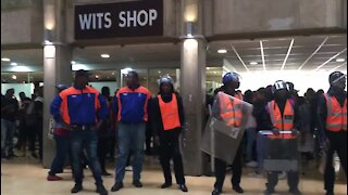 SOUTH AFRICA - Johannesburg - Wits Protest (xnF)
