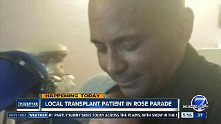 Local transplant patient will be in Rose Parade