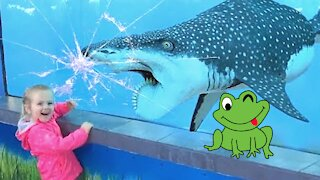 Funniest Moments Children Meet Animals - Funny Animals Reaction