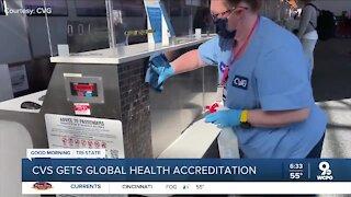CVG gets global health accreditation