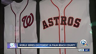 Local excitement over World Series teams