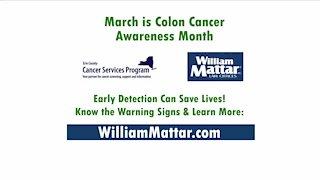 William Mattar - Colon Cancer Awareness Month campaign
