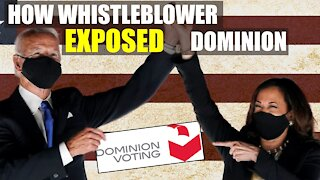 Dominion Whistleblower Calls Out Election Fraud