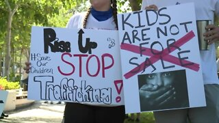 March protesting human trafficking held in West Palm Beach