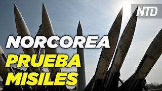 Norcorea continua amenazas con pruebas de misiles; Traficantes traen más niños a la frontera | NTD