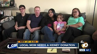 San Diego mother needs a kidney donation