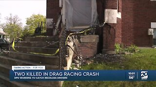 2 killed in drag racing crash in Detroit