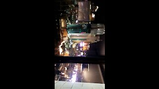 First night in Vegas.