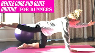 Gentle 7 minute core and glute workout