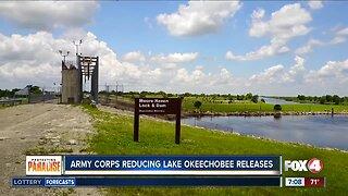 Army Corps reducing Lake Okeechobee releases this week