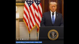 Farewell Address of President Donald J. Trump 1/19/21-The best is yet to come!
