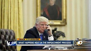 What happens next in impeachment proceedings