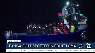 Passengers on panga boat detained
