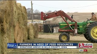 Iowa farmers unable to feed livestock, Secretary of Agriculture encourages more donations