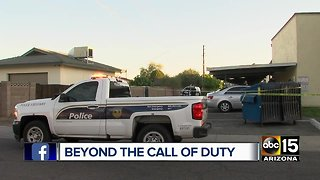 Stabbing call turns into a life-saving opportunity for Phoenix officers
