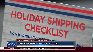 Omaha post offices extending hours for holiday season