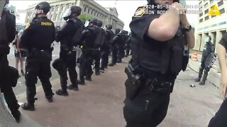 New body cam video shows confusion, confrontations during May 30 protests in Cleveland