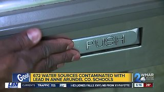 High levels of lead found in some Anne Arundel County Public Schools drinking water
