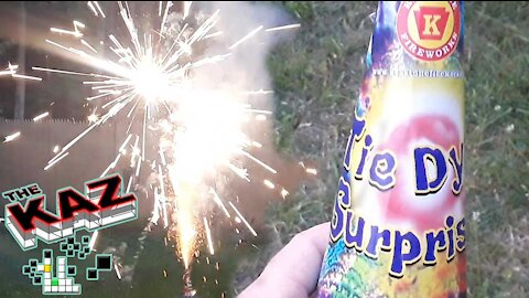 Tie Dyed Surprise Fireworks