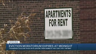 Temporary suspension of evictions in Michigan expire tonight. What tenants need to know