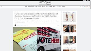 Georgia County ADMITS They Can't Provide Chain of Custody For 18,000 2020 Ballots