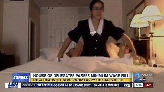 Maryland General Assembly passes $15 minimum wage bill
