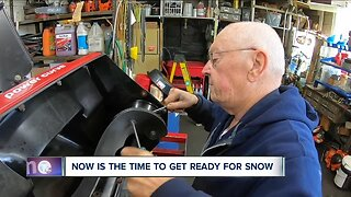 Are you preparing for snow? You should be,
