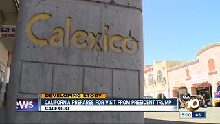 California prepares for visit from President Trump
