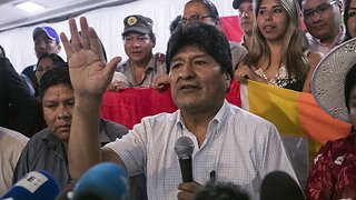 Morales Blocked From Running For A Seat In Bolivia's Senate
