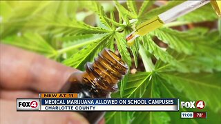 Charlotte County Public Schools allow medical marijuana on campus