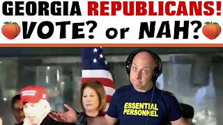GEORGIA REPUBLICANS! VOTE? or NAH?