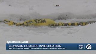 Homicide investigation in Clawson