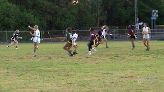 Palm Beach County flag football all star game